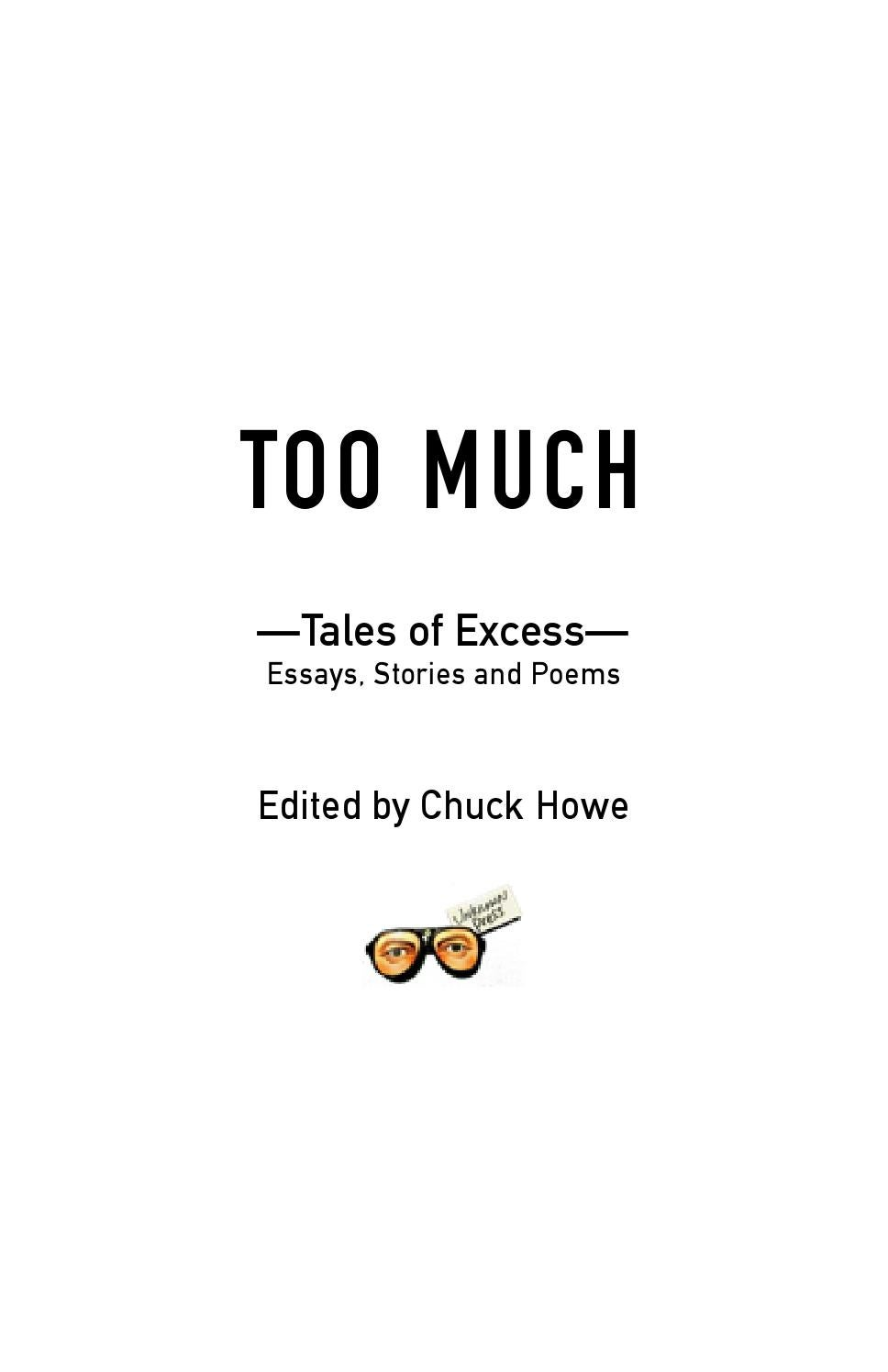 Too much anthology by Bud Smith - issuu