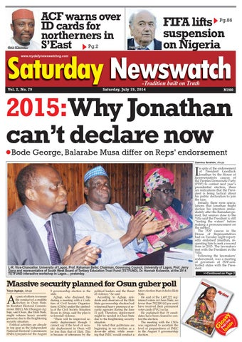 Newswatch magazine nigeria online dating