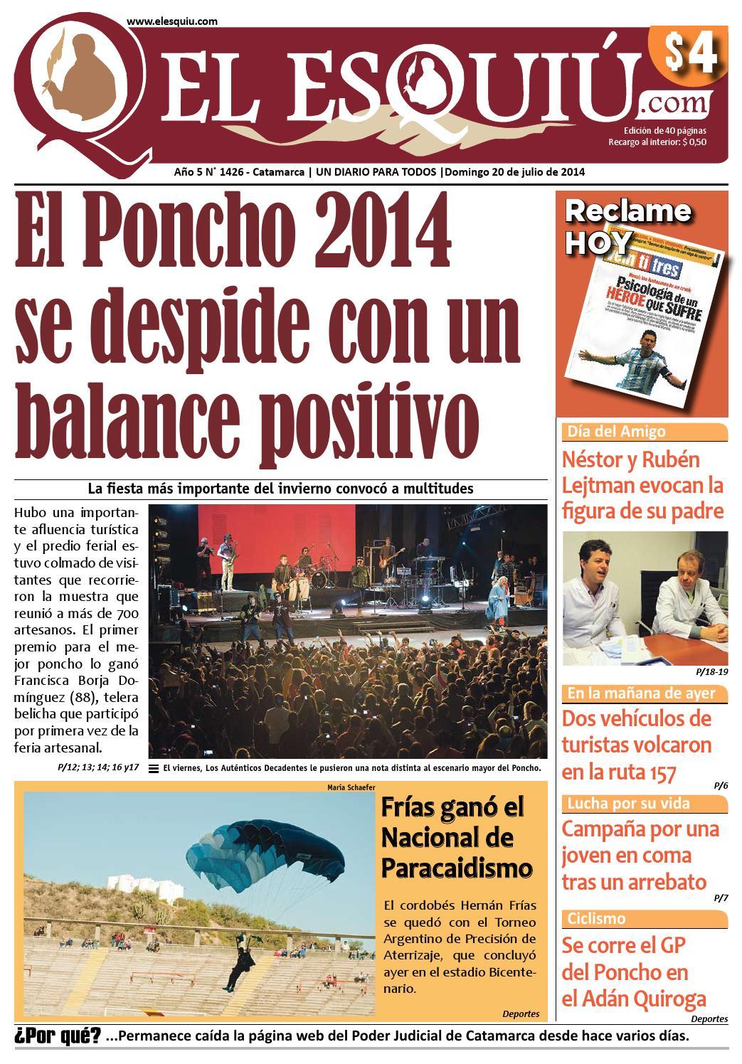 Muebles Lejtman - El Esquiu Com Domingo 20 De Julio De 2014 By Editorial El Esqui [mjhdah]https://image.isu.pub/170624030733-36af0392b1a90b59e22a6fb24caad51b/jpg/page_1.jpg