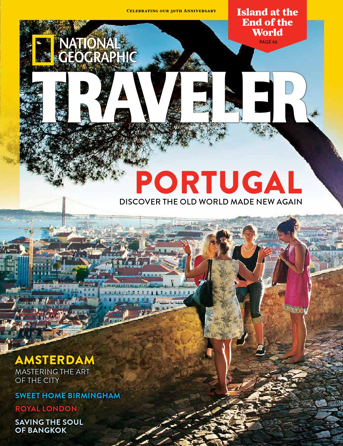 Portugal Road Trip - National Geographic Traveler Aug/Sept 2014