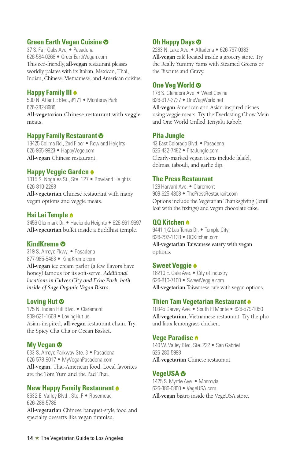 Veg Guide to Los Angeles 2014 by Vegan Future - issuu