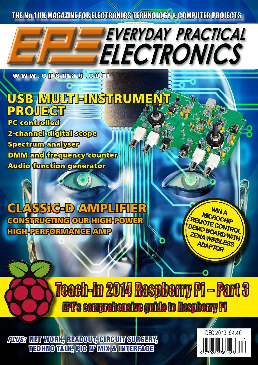 Everyday Practical Electronics 2013 12 By Yurgen Issuu Electronic Circuit Design Magazine