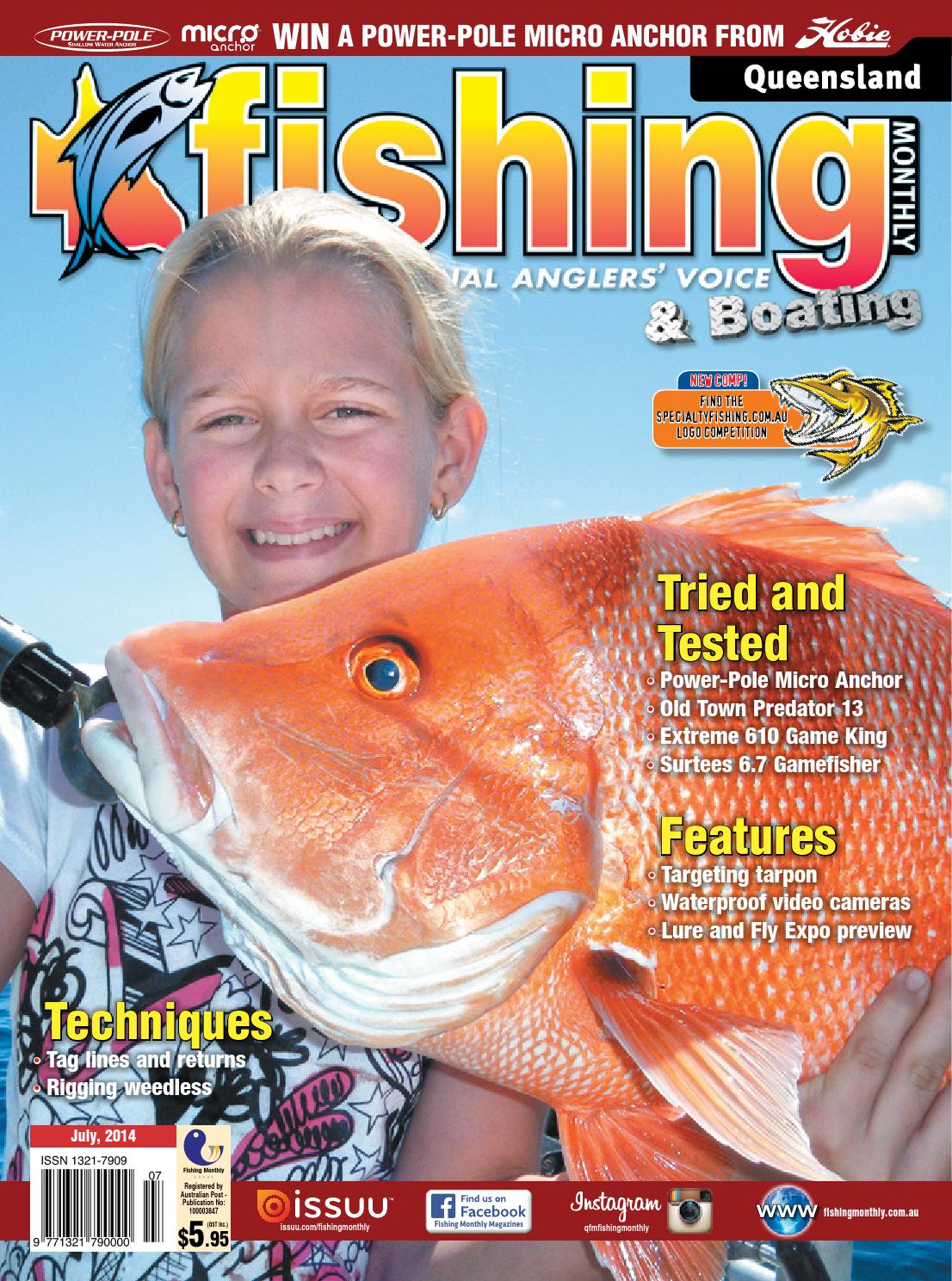 fd3cd7e1a2c10 Queensland Fishing Monthly - July 2014 by Fishing Monthly - issuu