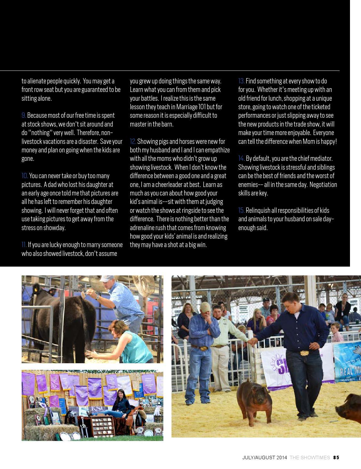July/August 2014 State Fair Edition by Brian Reid - issuu