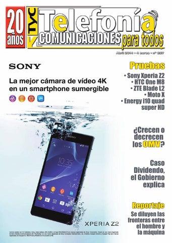 bd34eff980b Telefonia y Comunicaciones Abril 2014 by TyC Telefonia y ...