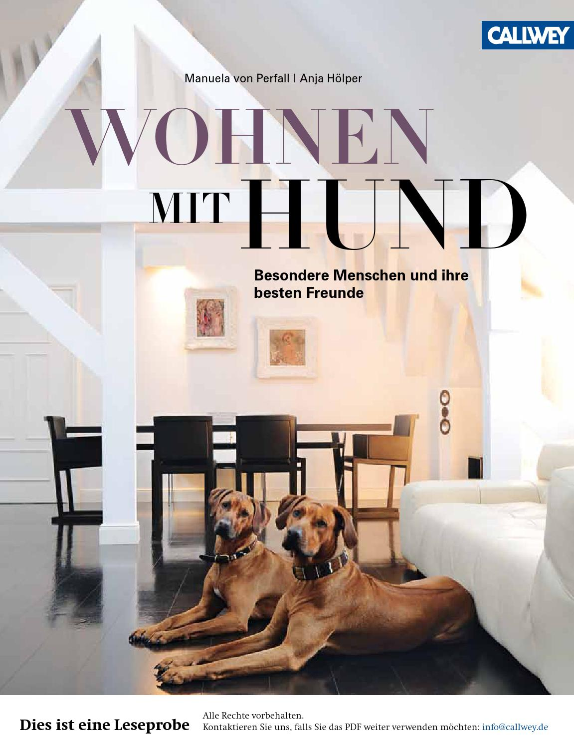 perfall wohnen mit hund callwey issuu by georg d w callwey gmbh co kg issuu. Black Bedroom Furniture Sets. Home Design Ideas