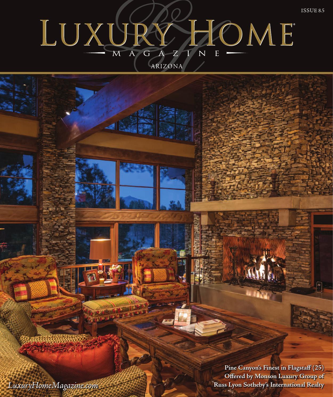 luxury home magazine arizona issue 8 5 by luxury home magazine issuu. Black Bedroom Furniture Sets. Home Design Ideas