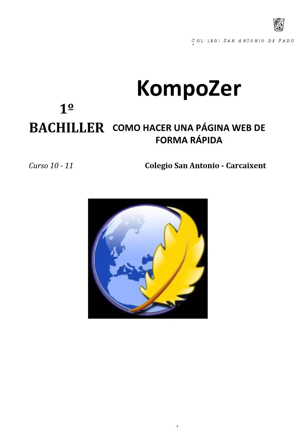Manual komposer 1º bachiller en word 7jul14 by Juan José Sánchez de ...