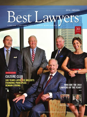 Best Lawyers in Indiana 2014 by Best Lawyers - issuu