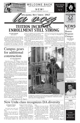 Sept 22, 2003 issue by La Voz News - issuu
