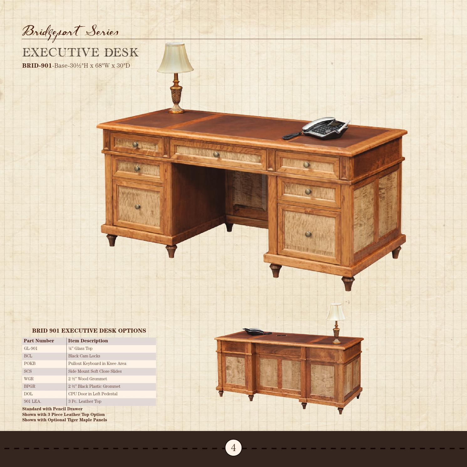 2017 Dutch Creek Catalog Office Furniture E G Amish By Issuu