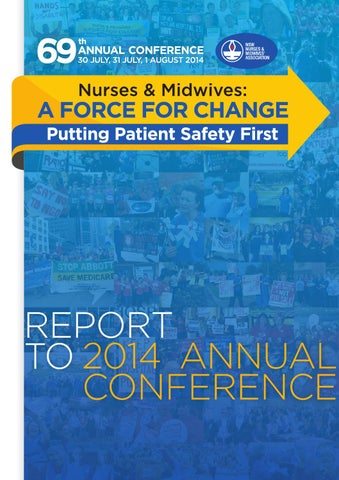 Report to 2014 Annual Conference by NSW Nurses and Midwives