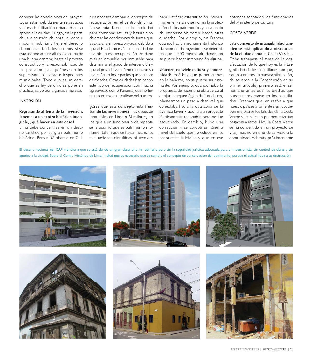 f8b40300ddb2e REVISTA PROYECTA ED. 27. Lima-Perú by CONSTRUCCIÓN Y VIVIENDA - issuu
