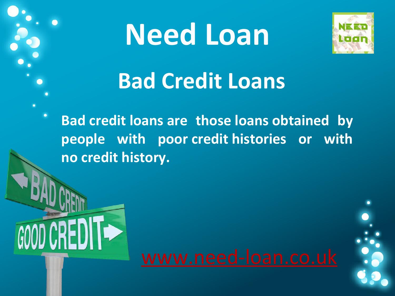 Low Credit Loans >> Need Bad Credit Loans At Low Interest Rate By Needloan Issuu