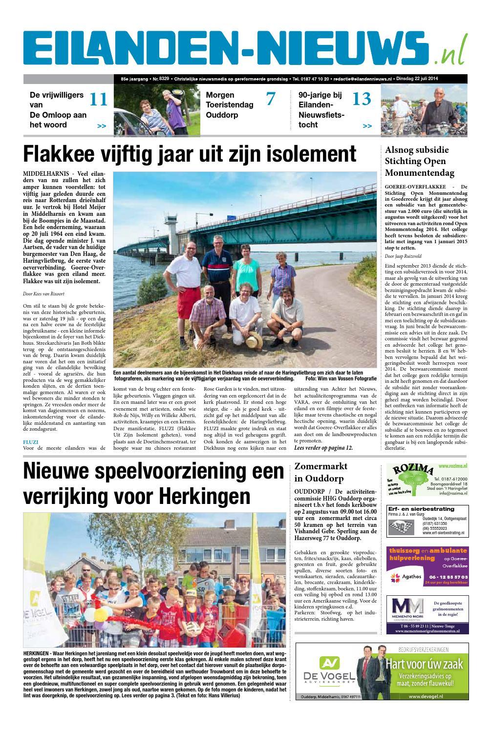 Eilanden Nieuws 22 Juli 2014 By Eilanden Nieuws Issuu