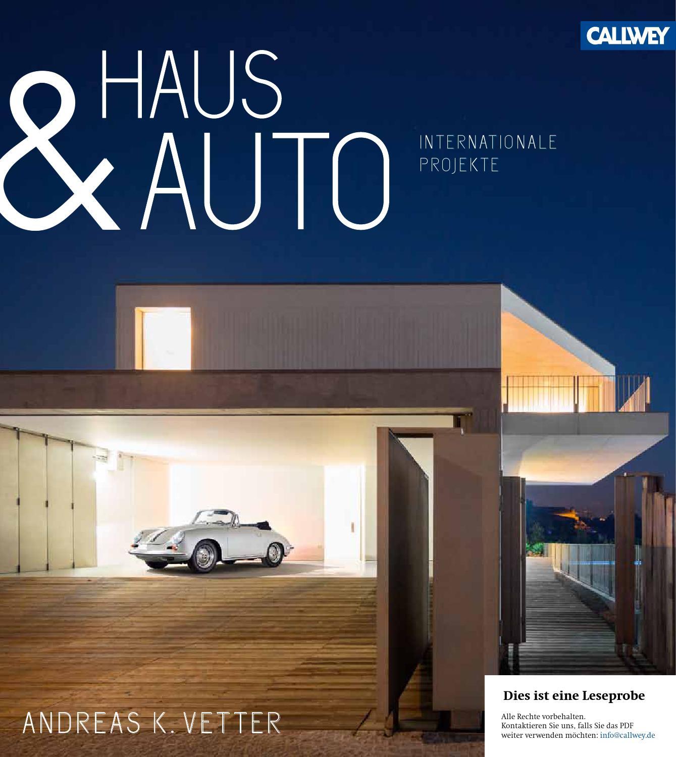 Haus Talblick: Vetter Haus Und Auto Internationale Projekte Callwey Issuu