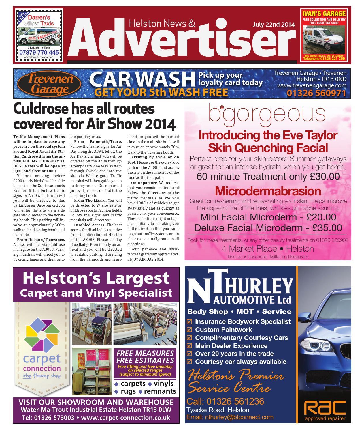 Helston News Advertiser 22nd July 2014 By Helston Advertiser Issuu