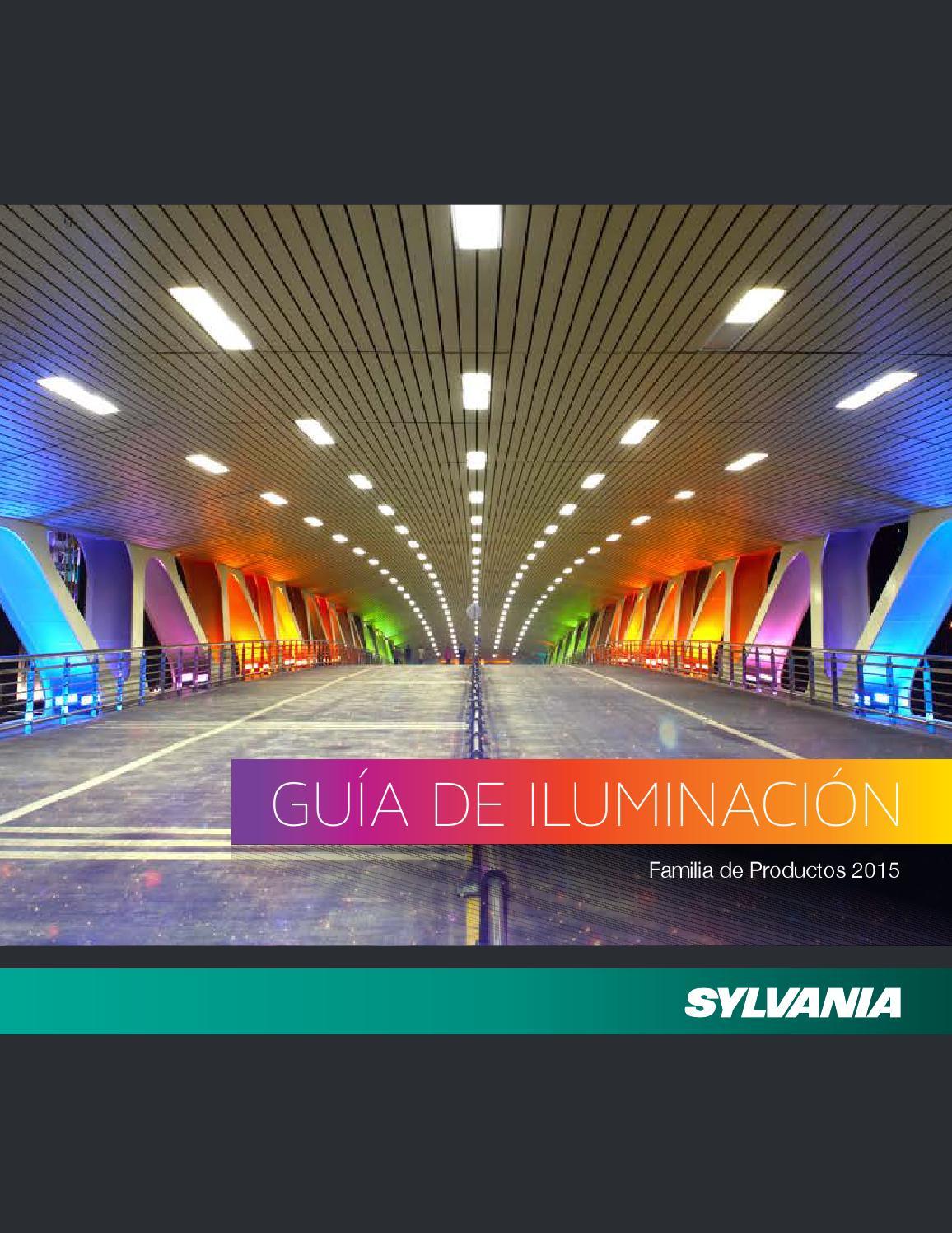 Gu a de iluminaci n sylvania 2015 by havells sylvania for Catalogo osram led