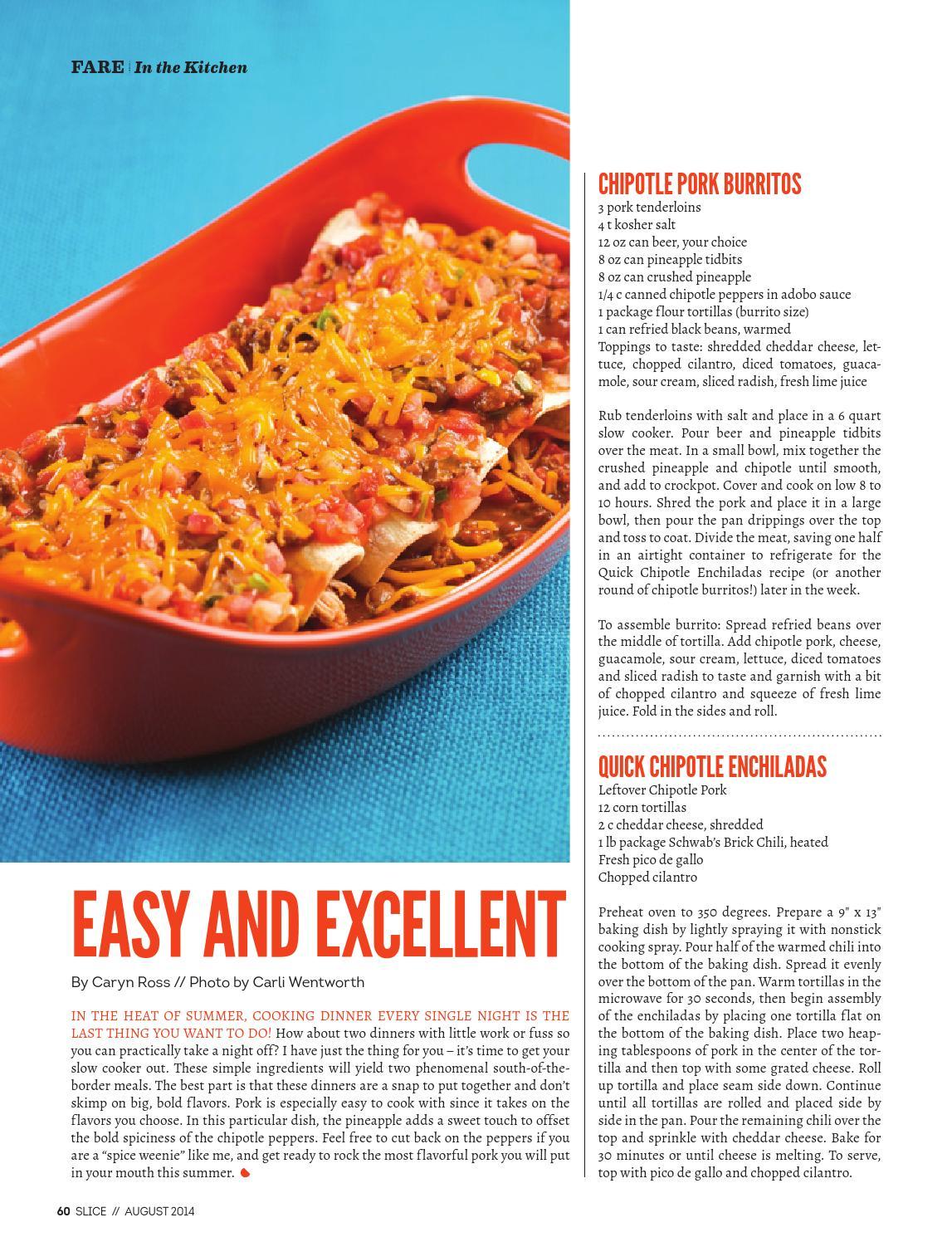 Slice August 2014 By 405 Magazine Issuu