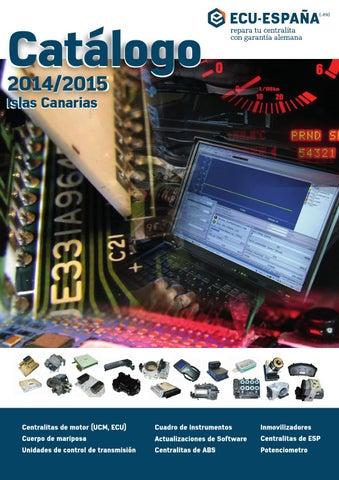 catálogo ECU-ESPAÑA 2014/2015 - Islas Canarias by electronic
