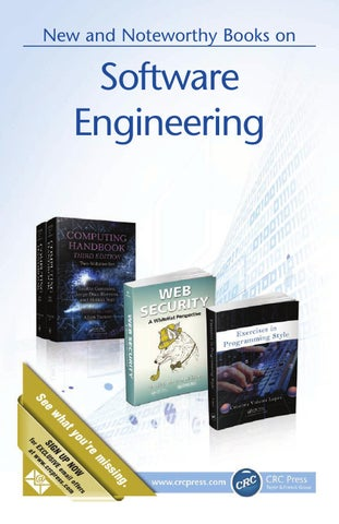 Software Engineering By Crc Press Issuu
