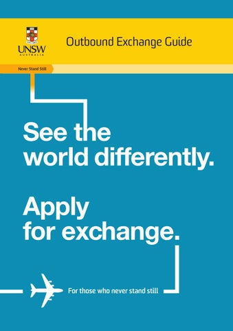 Outbound Exchange Guide by UNSW Sydney - issuu