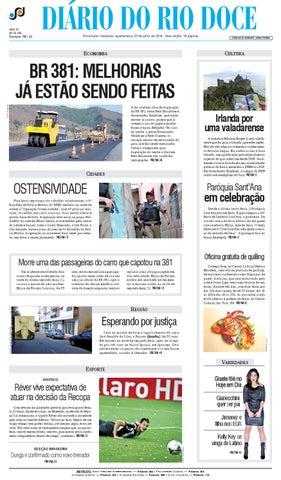 Diário do Rio Doce - Edição de 23 07 2014 by Diário do Rio Doce - issuu bb503b6850fd3