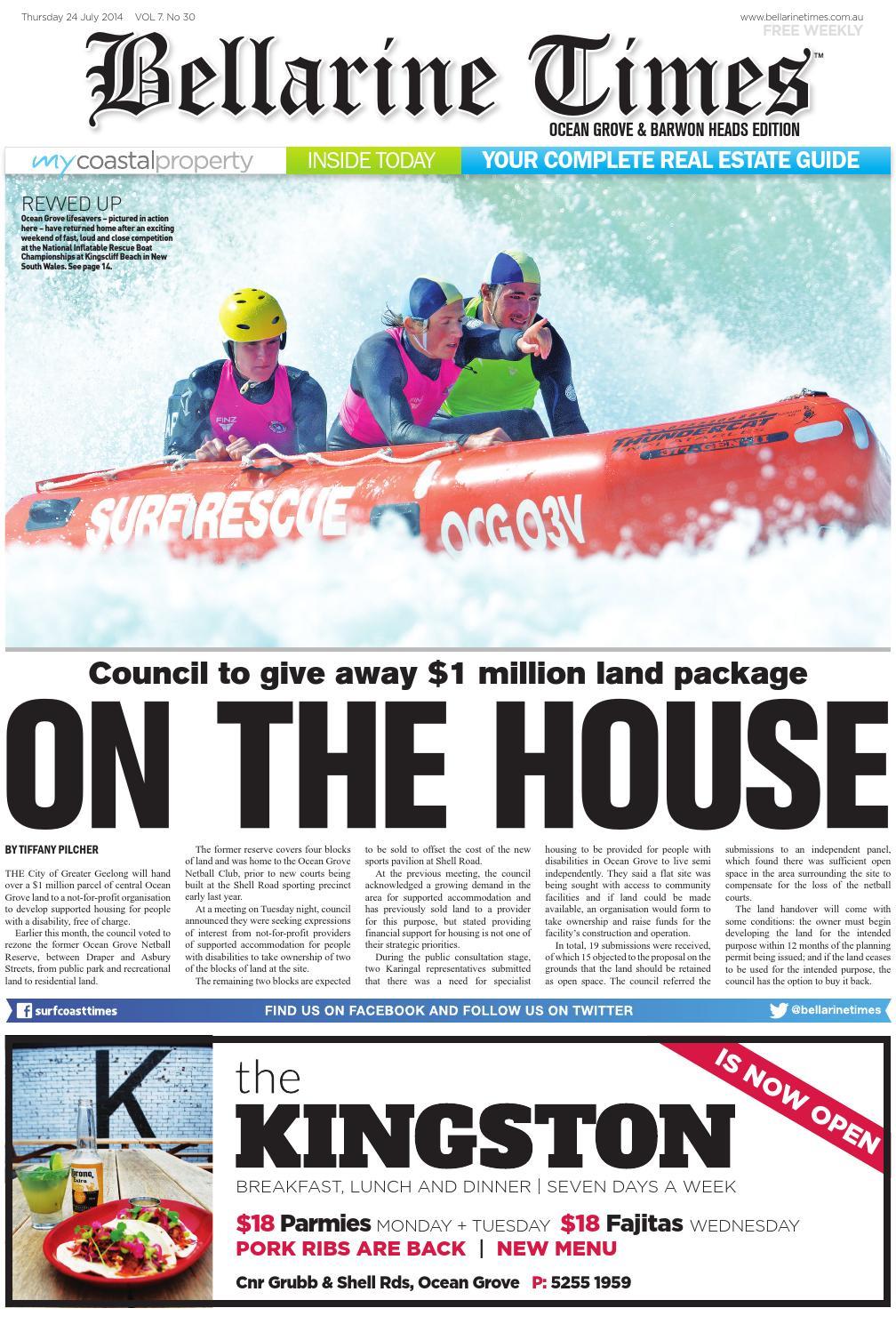 Bellarine Times Ocean Grove: July 24, 2014 by Surf Coast News ...