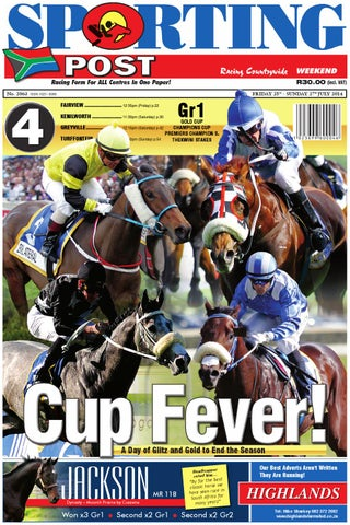 5a766ba12a5 25-27 July  2063 Sporting Post by Sporting Post - issuu