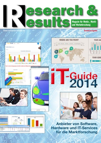 Research & Results IT-Guide 2014 - DEUTSCH by Research & Results - issuu
