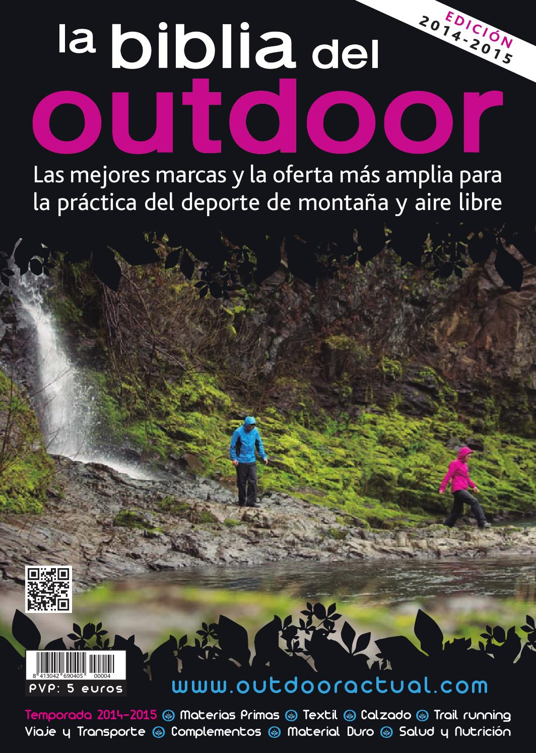 ba41edbd767b La Biblia del Outdoor 2014-15 by Outdoor Actual - issuu