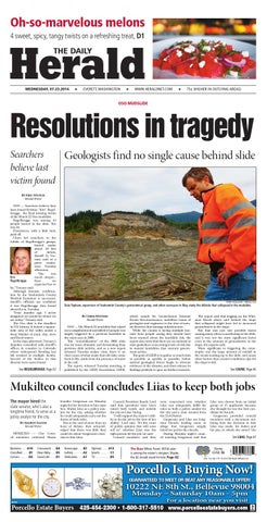 Everett Daily Herald July 23 2014 By Sound Publishing