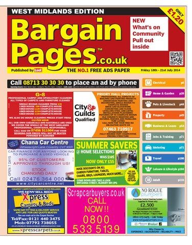 0834cd843367 Bargain Pages,18th July 2014 by Loot - issuu