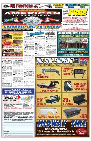 American Classifieds July 24th Edition Bryan College