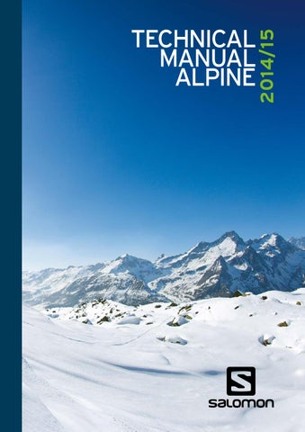 2014-2015 atomic nordic technical manual by amer sports finland.