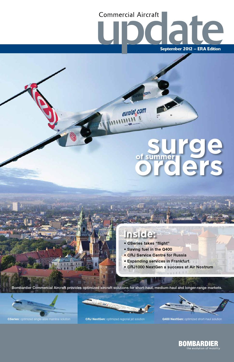 Bombardier Commercial Aircraft Update - September 2012 by