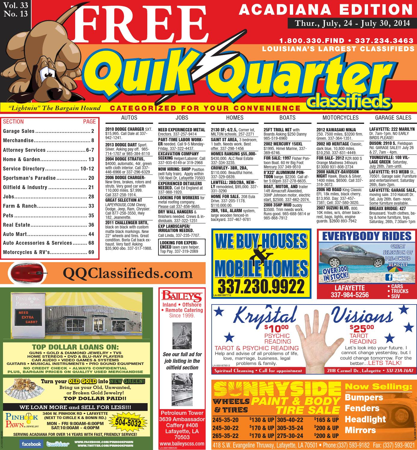 qqacadiana 07 24 2014 by part of the usa today network issuu rh issuu com