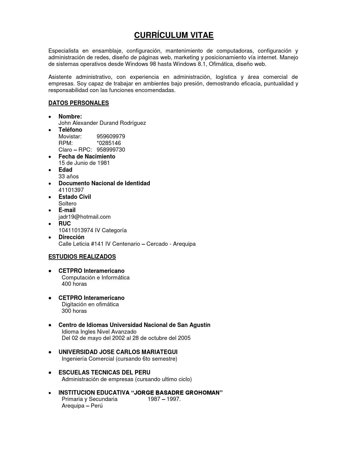 Curriculum Vitae John Durand Rodriguez By John Durand Issuu