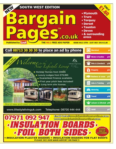 best service 1e053 5adc0 South West Bargain Pages, 15th July 2014 by Loot - issuu