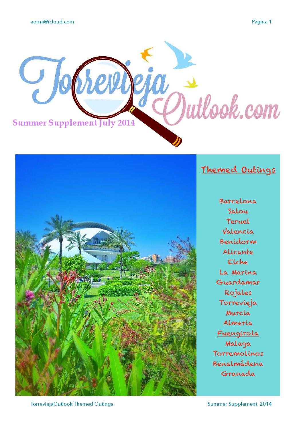 Torrevieja Outlook Themed Parks By Andy Ormiston Issuu