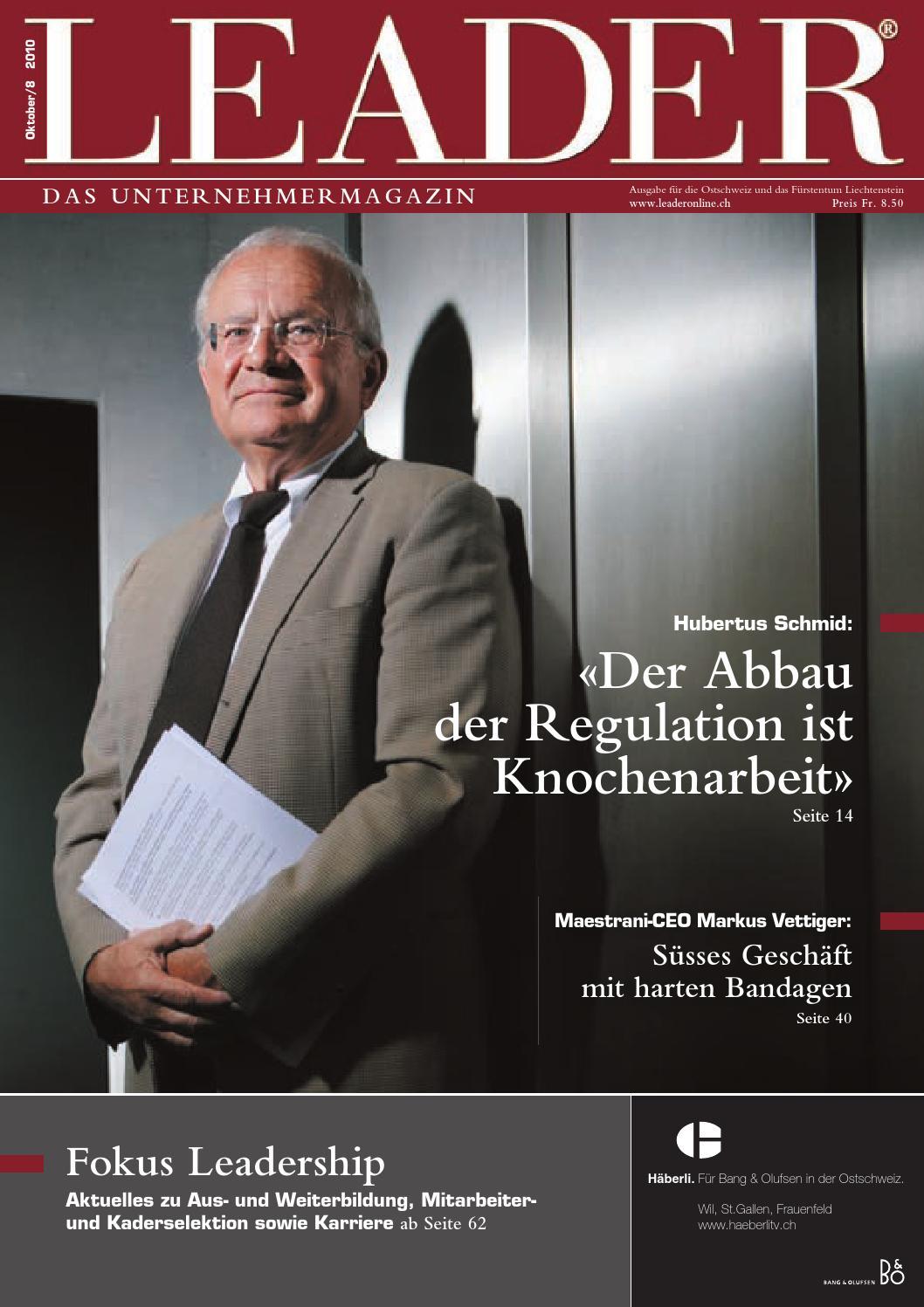 LEADER Oktober 2010 by LEADER - das Unternehmermagazin - issuu