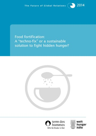 food fortification study 2014 by welthungerhilfe issuu