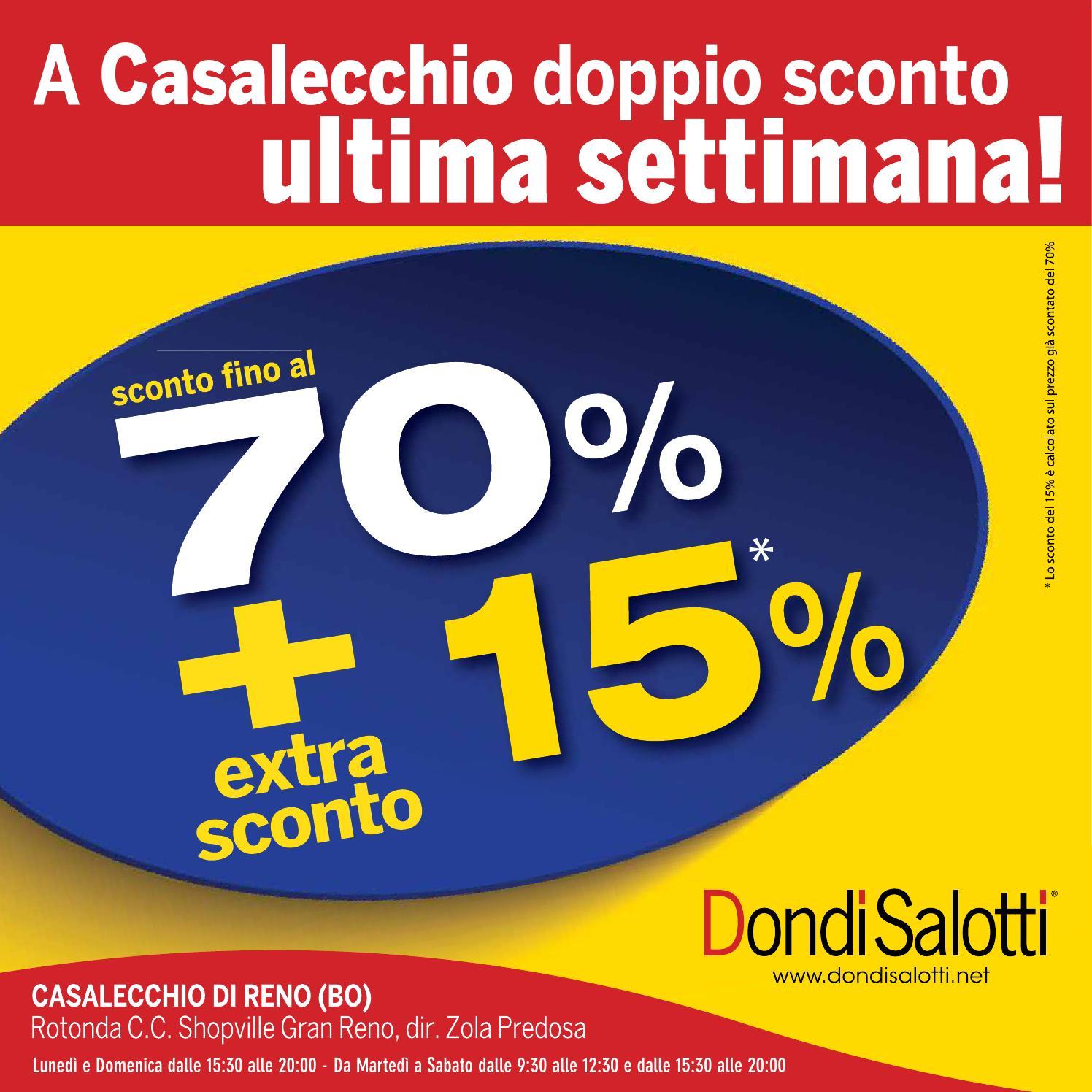 Dondi Salotti Zola Predosa.Extra Sconto Casalecchio By Pierpaolo Dondi Issuu