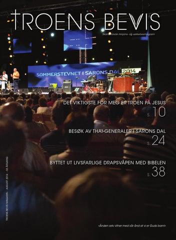 afa7ab4a Troens Bevis: August 2014 by Troens Bevis Verdens Evangelisering - issuu