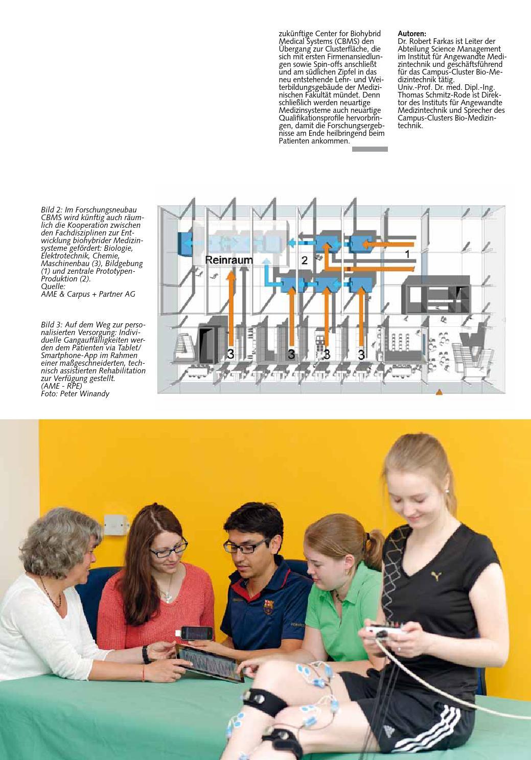 RWTH-Themen Medical-Science & Technology by RWTH Aachen University ...