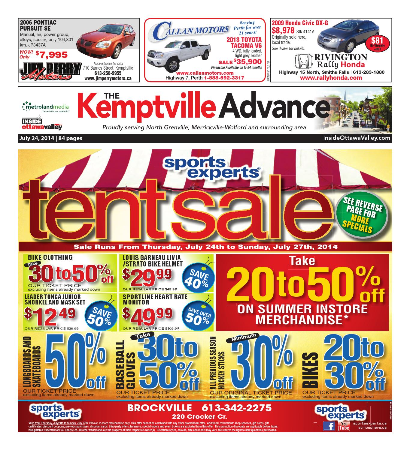 f8b03a0f5e28f0 Kemptville072414 by Metroland East - Kemptville Advance - issuu
