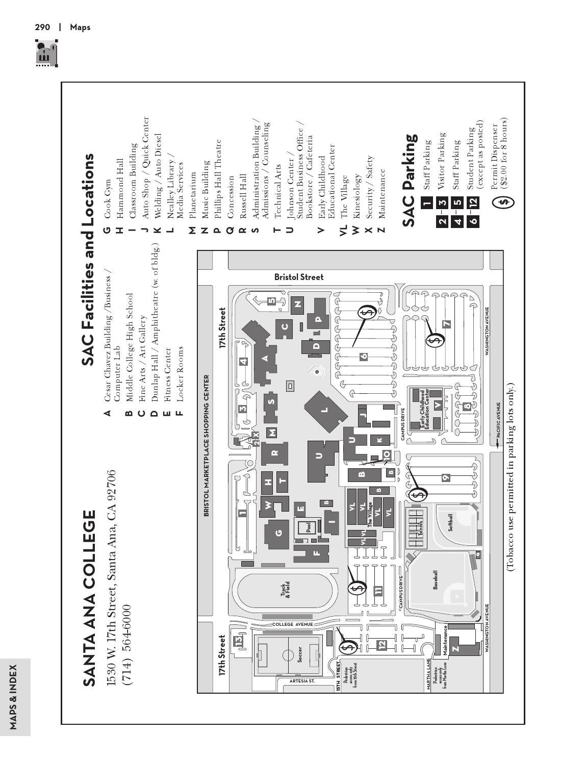 Santa Ana College Map Gadgets 2018