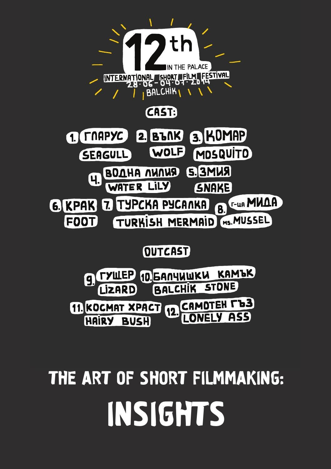 The Art of Short Filmmaking: INSIGHTS by IN THE PALACE ISFF