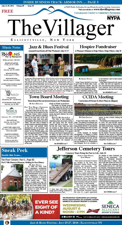 The villager ellicottville july24 30,2014 volume 9 issue 30 insert ...
