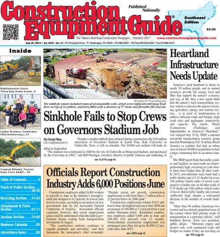 Southeast 15 2014 by Construction Equipment Guide - issuu